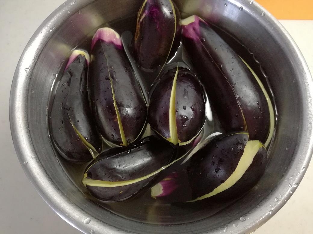 MOKOの郷土料理シリーズ 茄子のオランダ煮