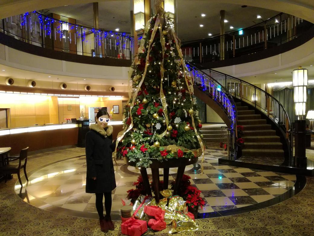 ニューグランドホテルの年忘れプレミアムビュッフェに出掛けてきました