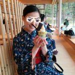 金沢城公園のカフェ「豆皿茶屋」にてゆったりと休憩タイムを