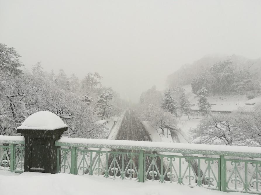 2018年 金沢城 大雪