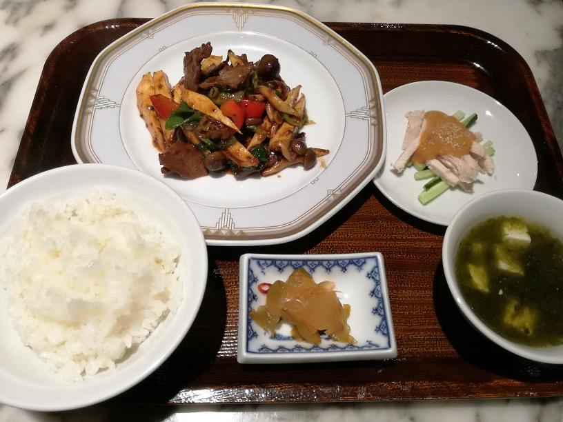 金沢の中華屋【梅梅】(めいめい)のランチに行ってきました