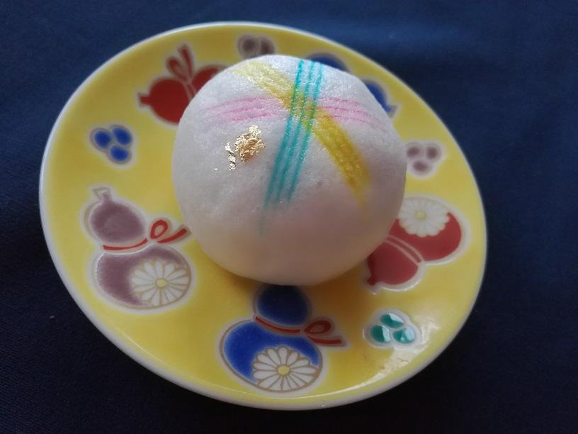 百万石まつり限定和菓子の【 珠姫てまり 】食べ比べ