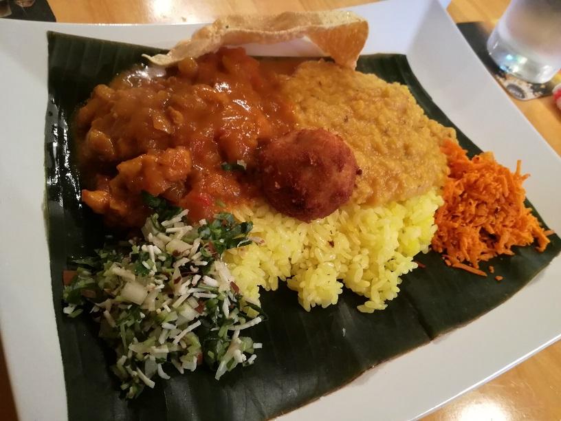 21世紀美術館すぐのスリランカキッチンで満足ランチ