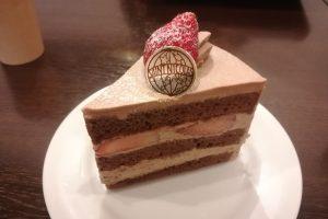 サンニコラの絶品チョコレートケーキ