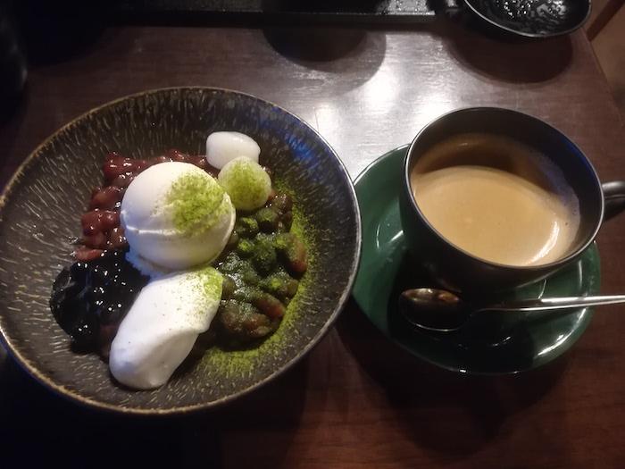 ひがし茶屋街のカフェ 波結