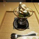 金沢箔一カフェで金箔おやつ