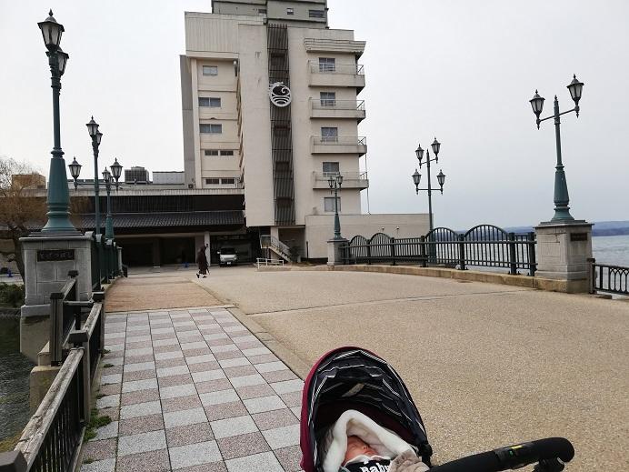 和倉温泉 虹と海に宿泊しました