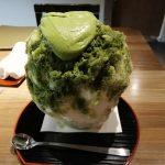 東茶屋街たもんのかき氷を食べて来ました