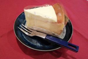 ミズキさんのベイクドチーズケーキに感動しました