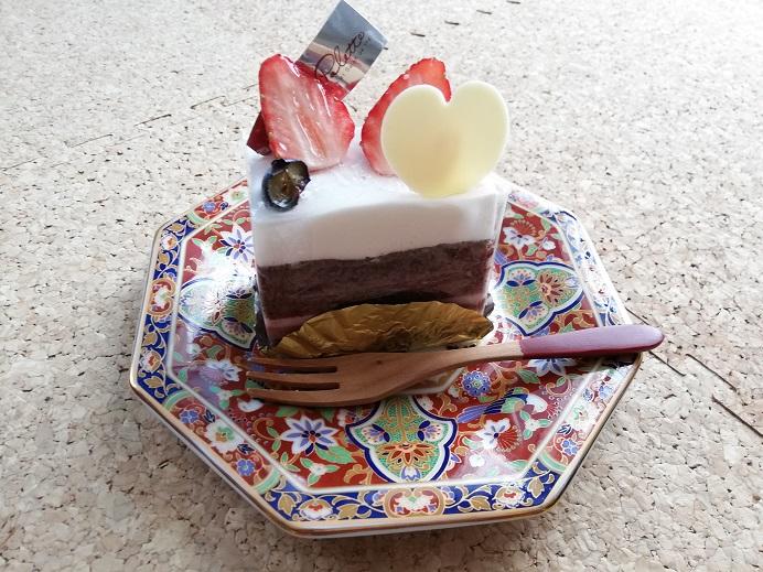 ラパレットさんの可愛らしいケーキ